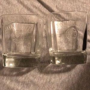Other - Jack Daniels Licensed Whiskey Glasses - Set of 2
